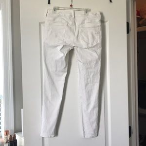 American Eagle Outfitters Pants - AE white jeggings- size 6 short